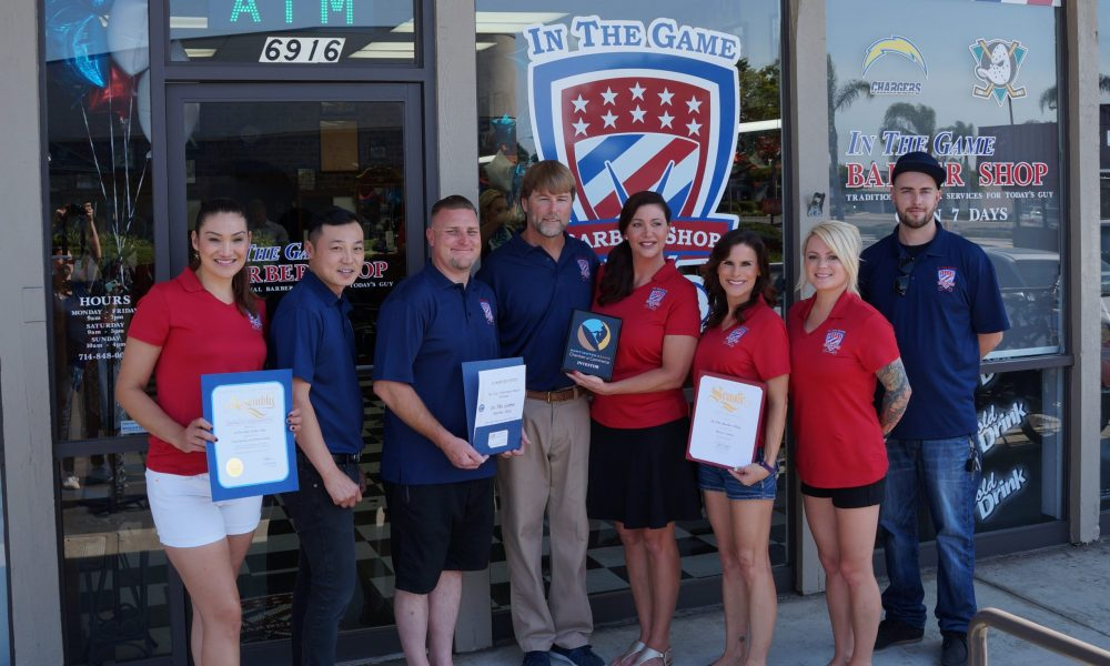 Meet Daryl Hicks Of In The Game Barber Shop In Huntington Beach