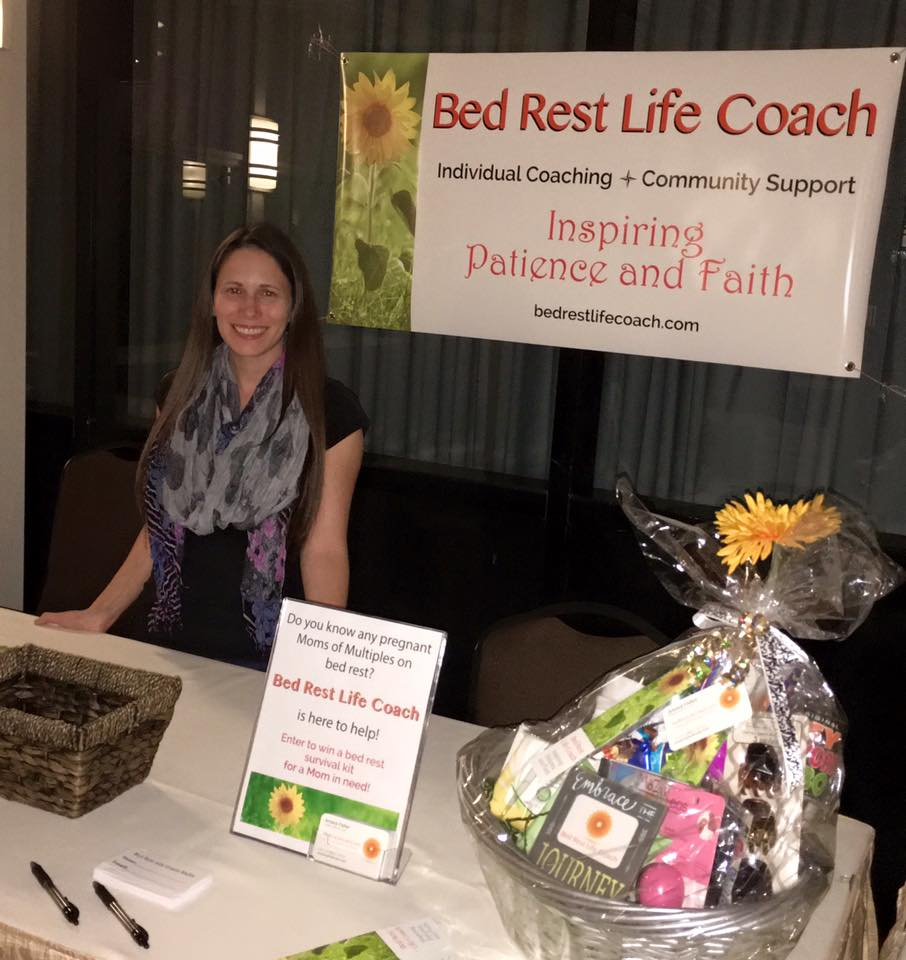 Jessica Fisher of Bed Rest Life Coach