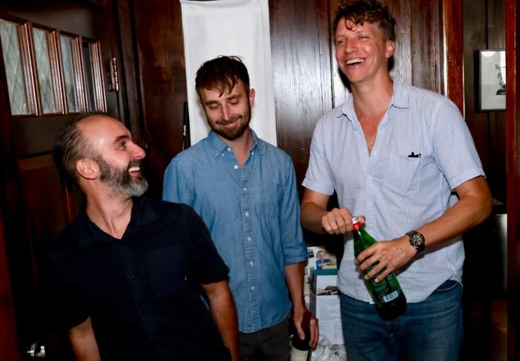 Meet Gregory Hoyt, Brian Girard, and Andy Schlachtenhaufen of